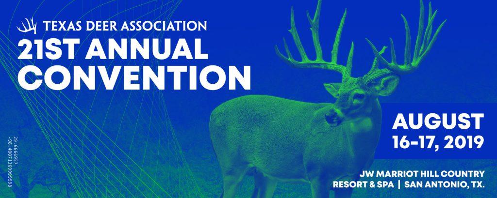 2019 Convention - Texas Deer Association